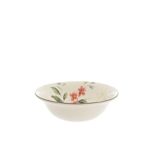 Coppetta ceramica decoro fiori