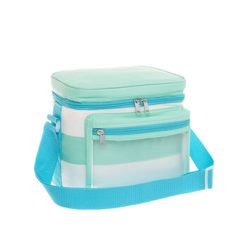 7L striped cooler bag