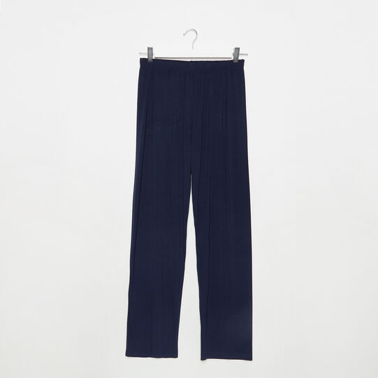 Solid colour pyjama trousers in jersey