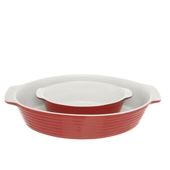 Pirofila ovale new bone china