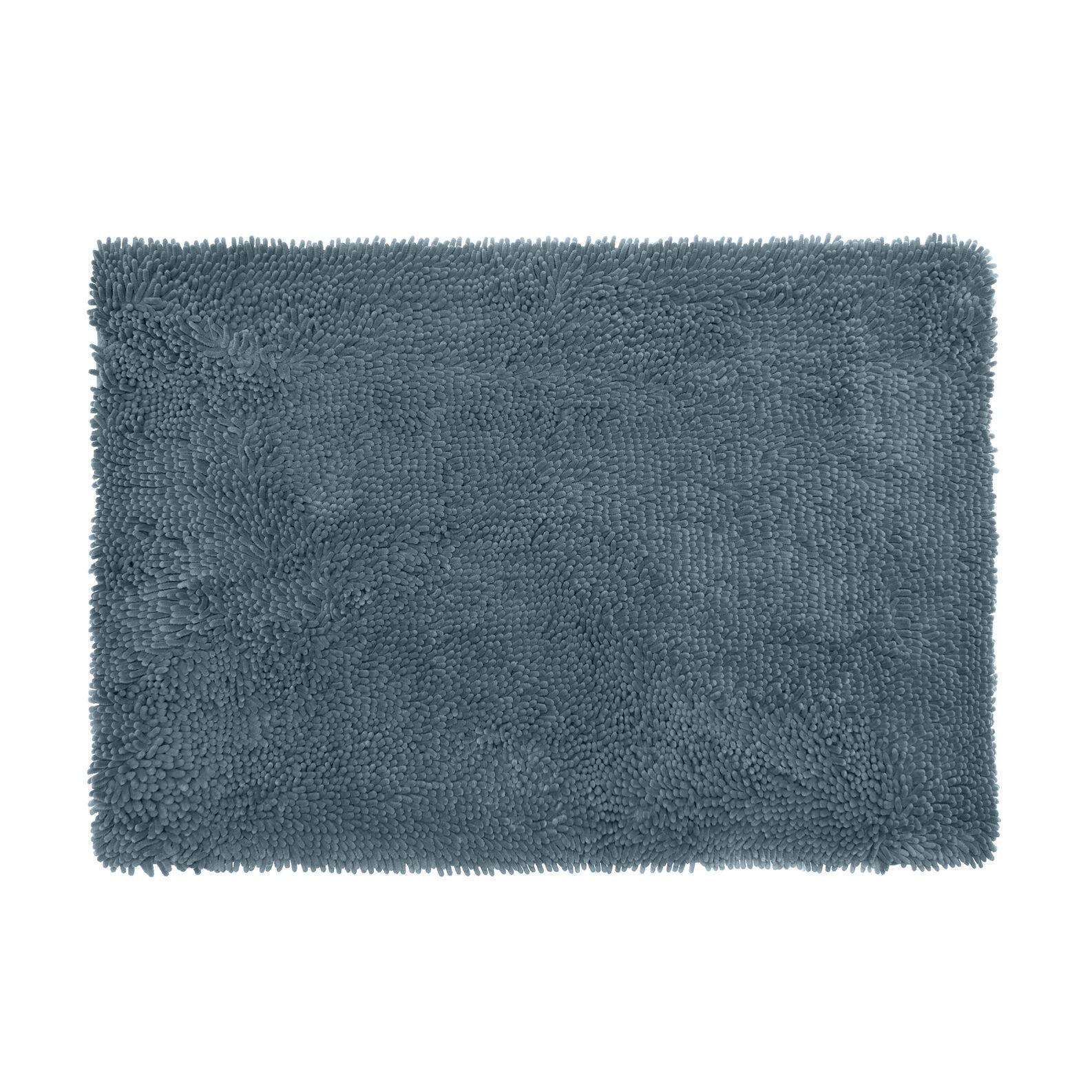 Zefiro Gold shaggy micro fleece bath mat