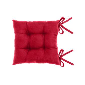 Zefiro seat pad in 100% Egyptian cotton jacquard