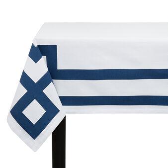 Tovaglia twill di cotone stampa greca