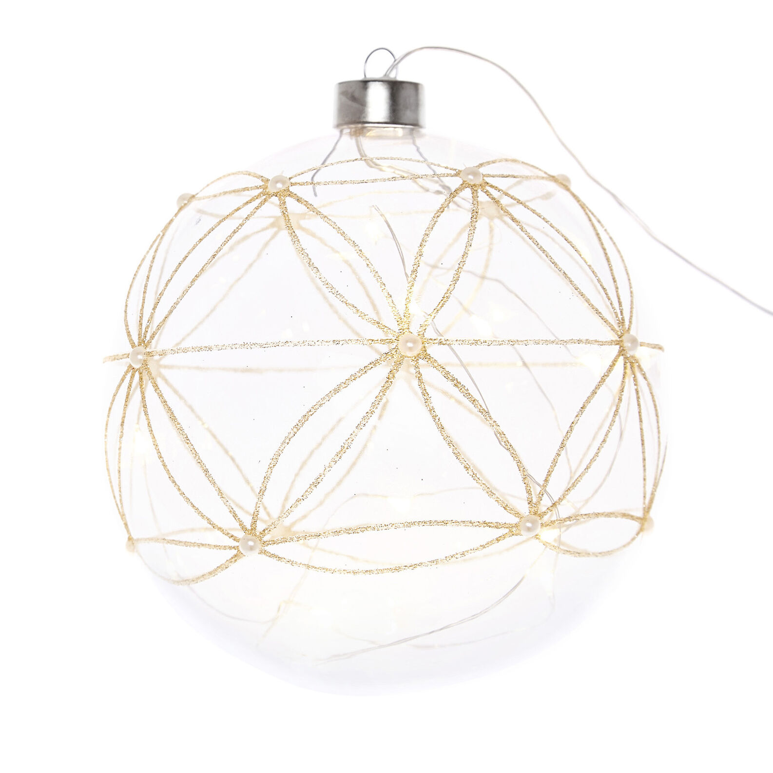 Bright glass bauble