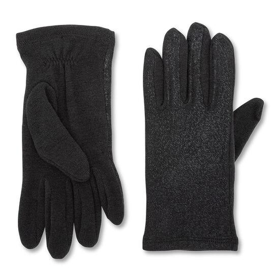 Koan laminated effect fabric gloves
