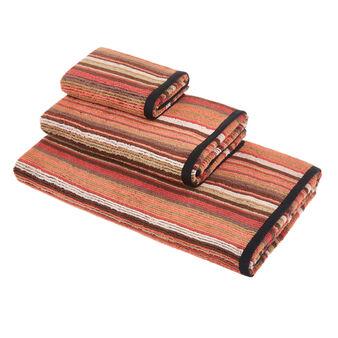 Asciugamano spugna di cotone a righe