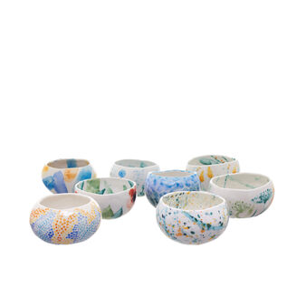 Small limited edition Chiara Metelli ceramic bowl