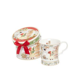 Mug porcellana motivo vintage