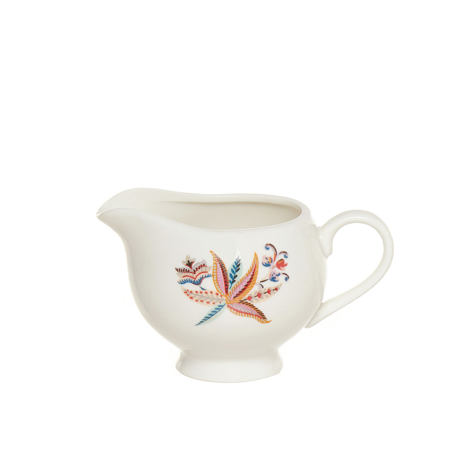Lattiera New Bone China decoro floreale