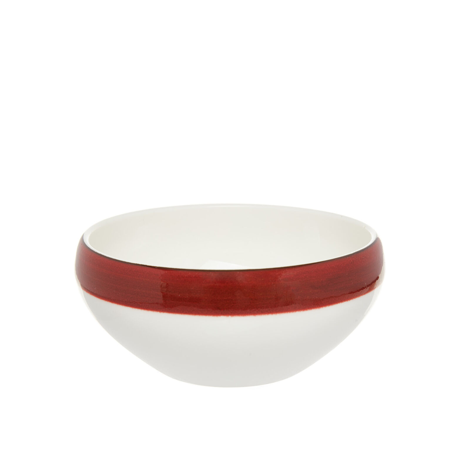 Speckled-effect porcelain bowl