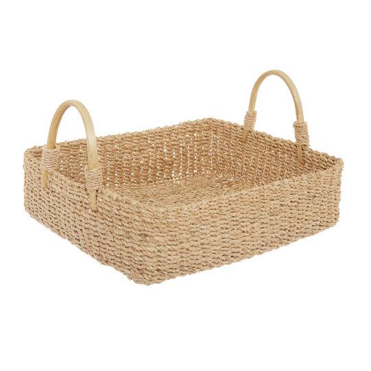 Handmade abaca basket