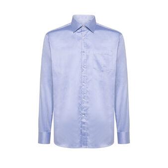 Camicia colletto francese regular fit in cotone