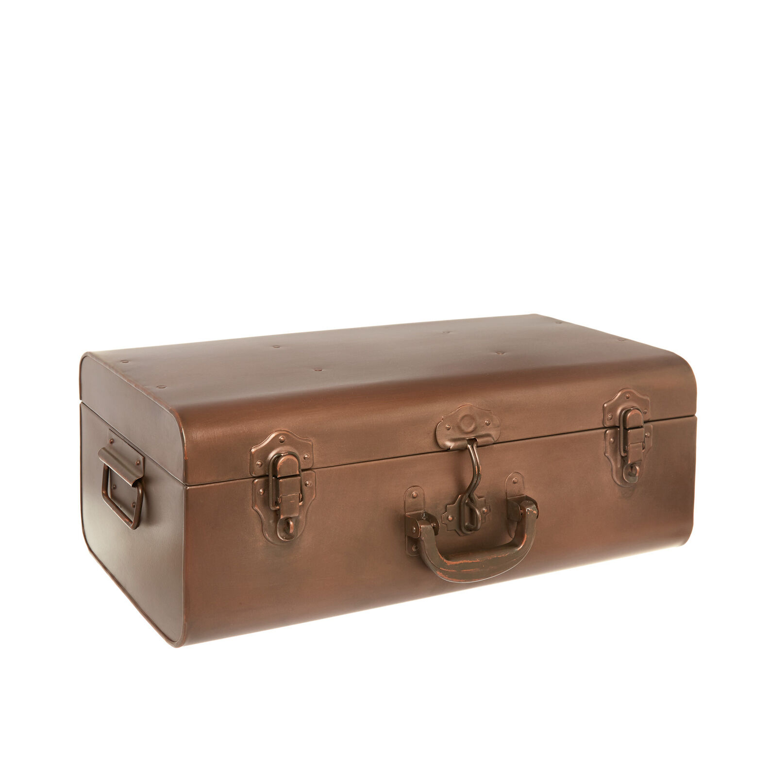 Decorative iron suitcase