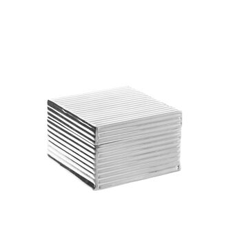 Silver-plated jewellery box