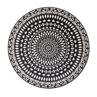 Piatto da portata porcellana decoro marocco