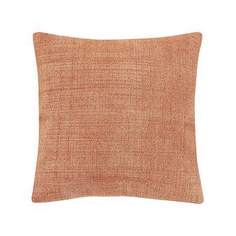 Cuscino cotone stampato a mano