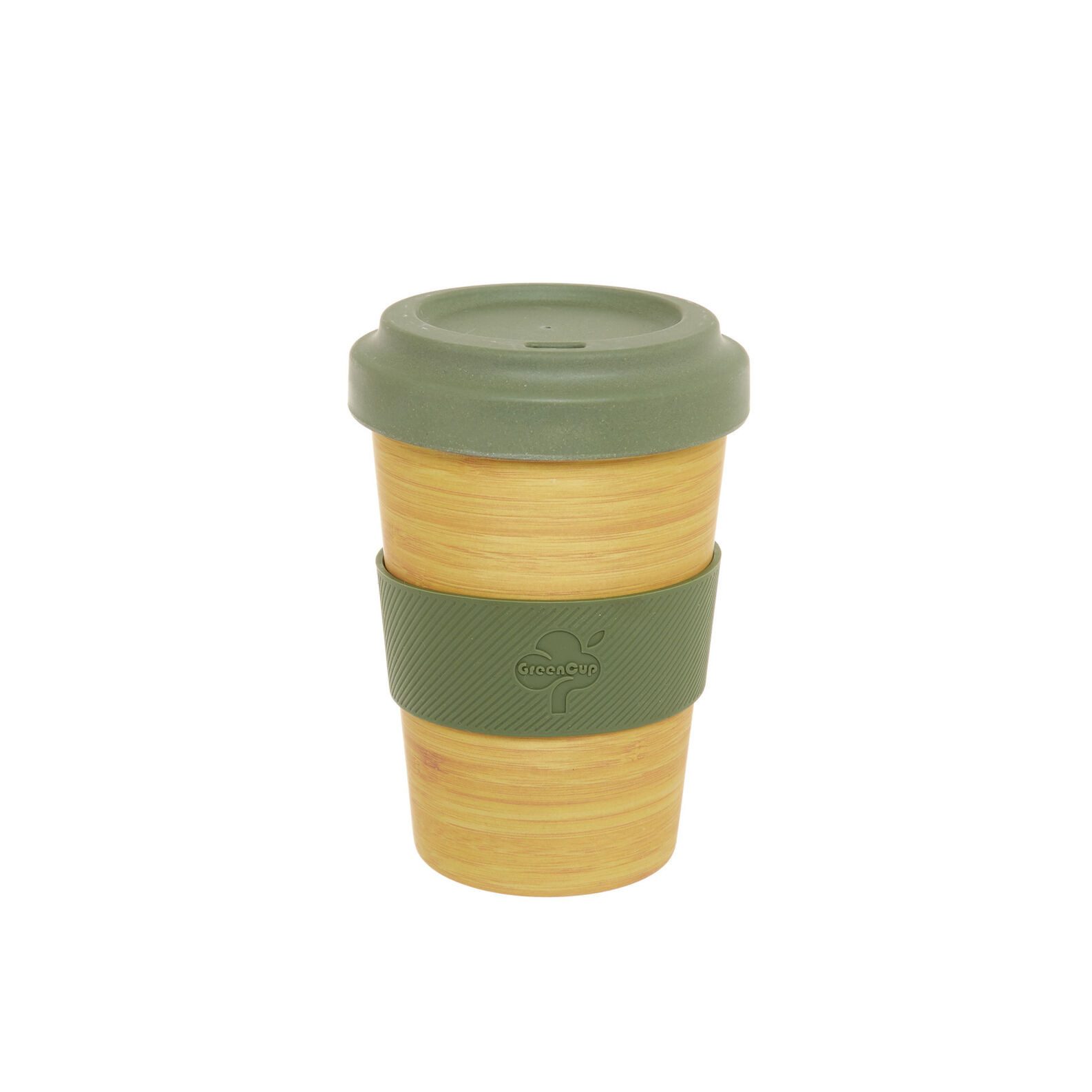 Take away cup in wood and bamboo fibre
