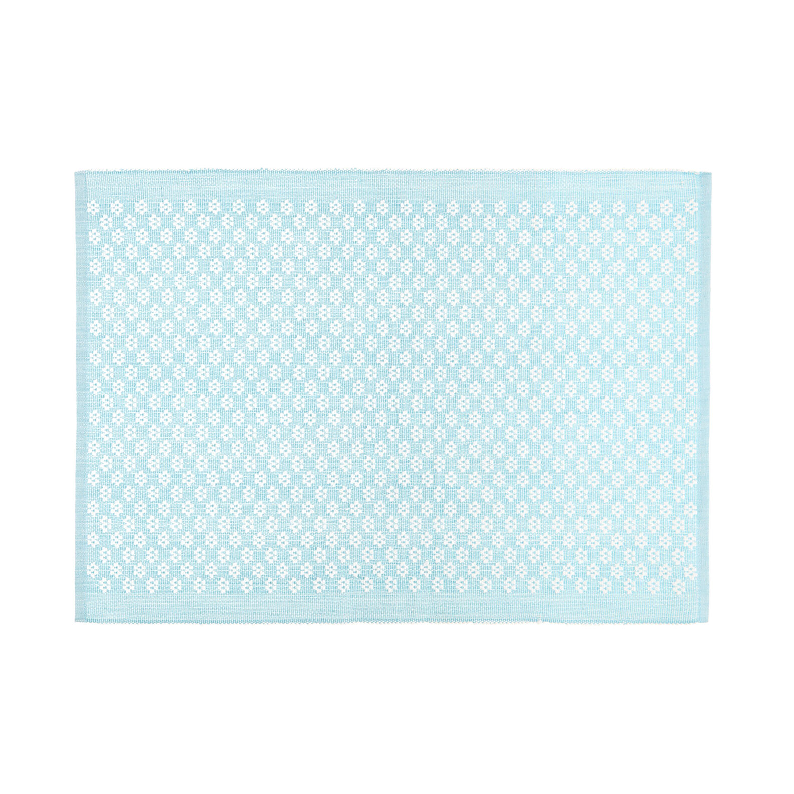 100% cotton table mat with flowers