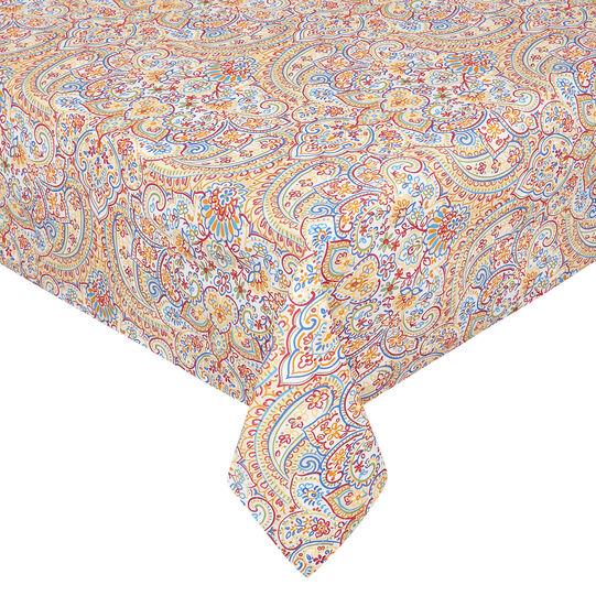Tovaglia puro cotone stampa mandala