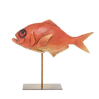 Hand-finished decorative fish