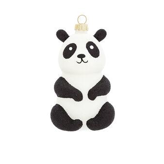 Addobbo panda decorato a mano