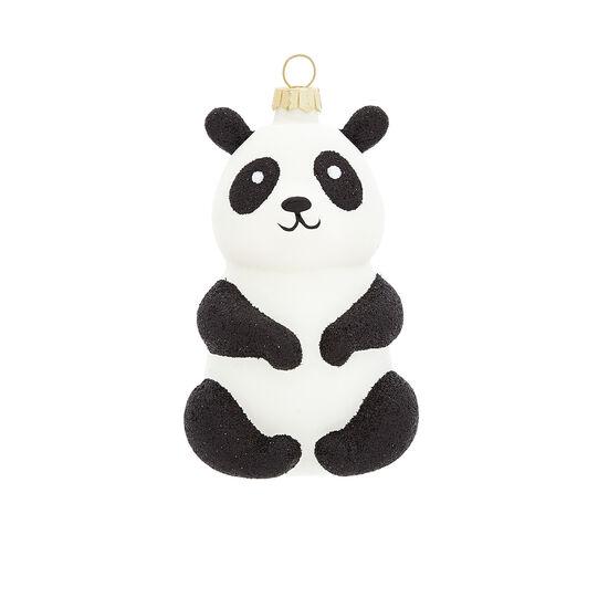 Hand-decorated panda decoration