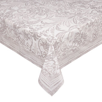 100% cotton tablecloth with Arabesque print