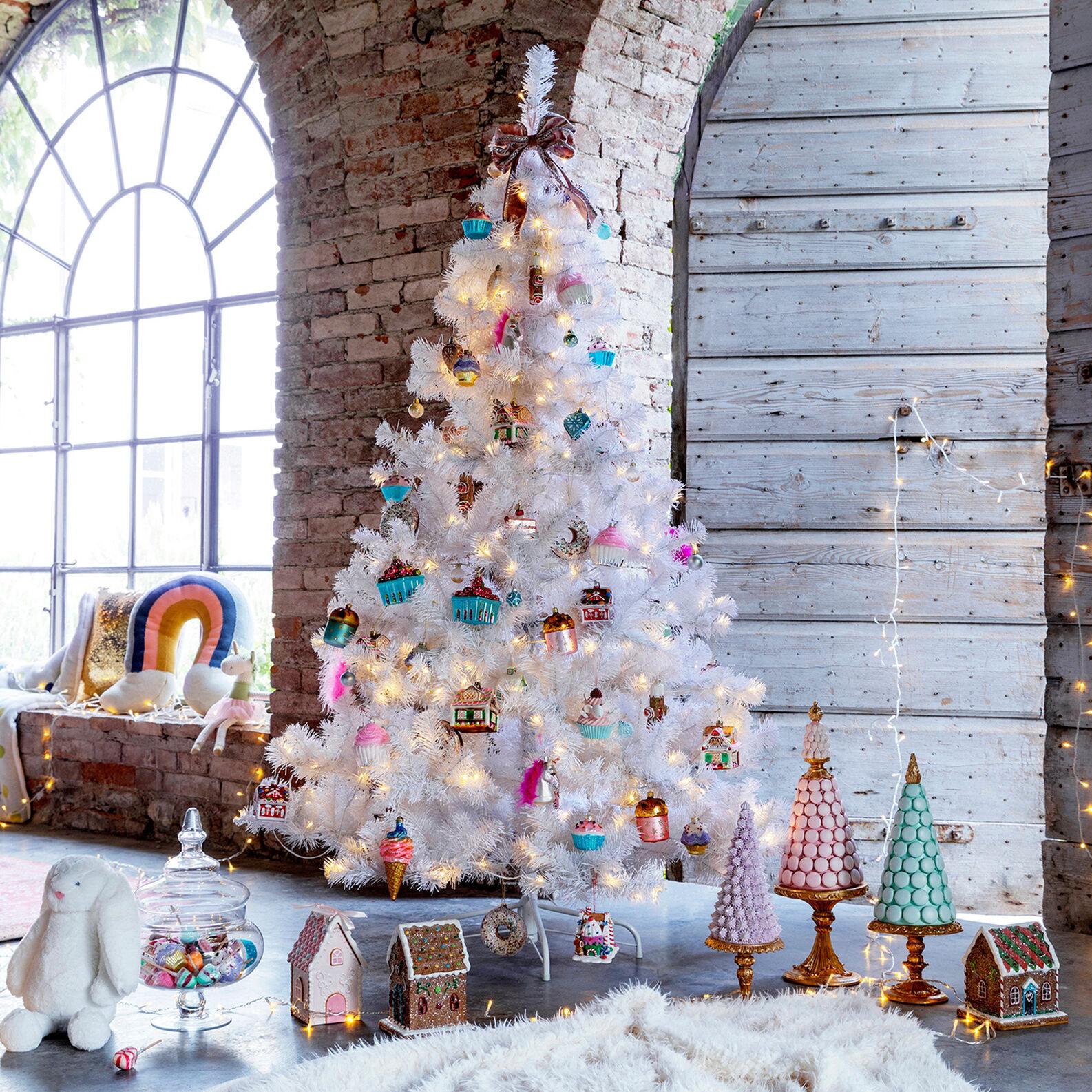 Albero di Natale White H180cm