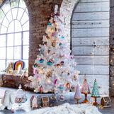 Christmas tree White H180cm