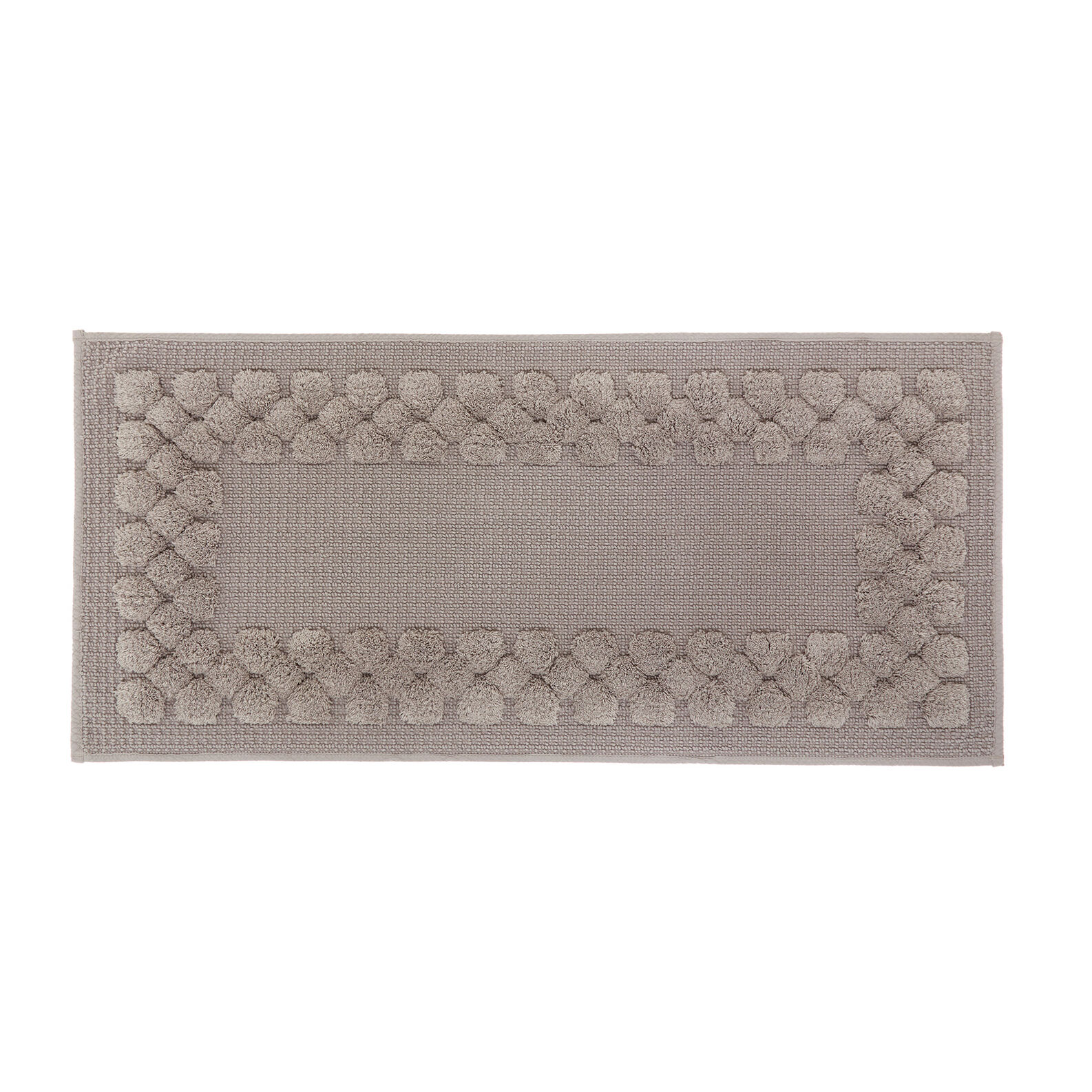 Bathroom cotton braids rug