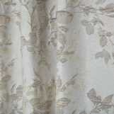 Jacquard curtain with hidden loops