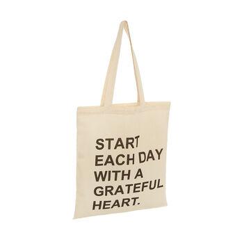 Shopping bag puro cotone No Waste