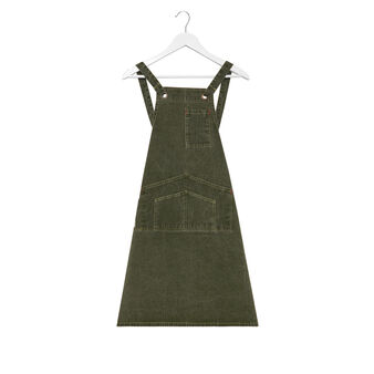 Kitchen apron in cotton denim