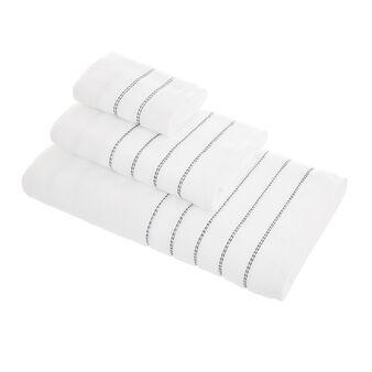Ultrasoft zero-twist cotton towel