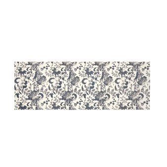 Cotton kitchen mat with print