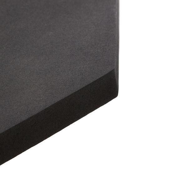 Black coffee table in aluminium