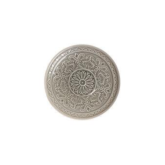 Flora stoneware side plate