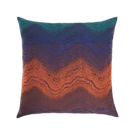 Faded jacquard cushion 45x45cm