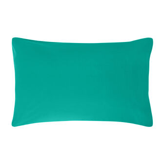 Solid colour pillowcase in 100% cotton