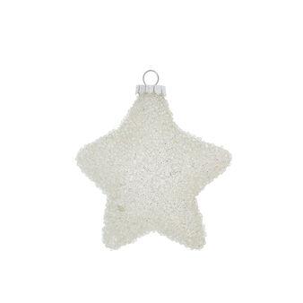 Addobbo a stella decorata a mano