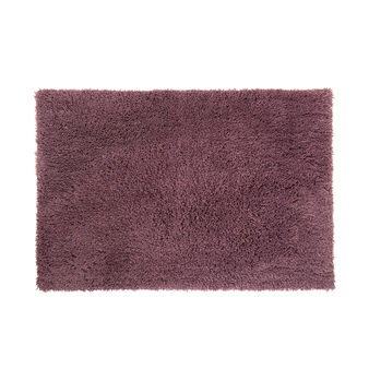 Long pile microfibre bath mat