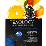 Blue Tea Miracle Face and Neck Mask Idratante e Illuminante 30 ml