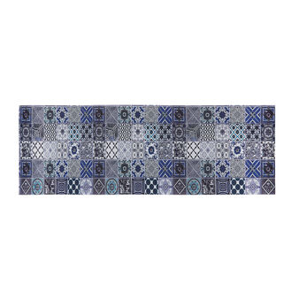 PVC mat with mosaic motif