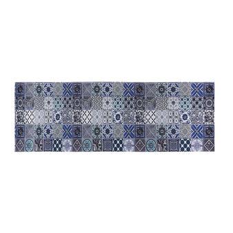 PVC mat with mosaic motif
