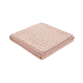 Bedspread in washed cotton