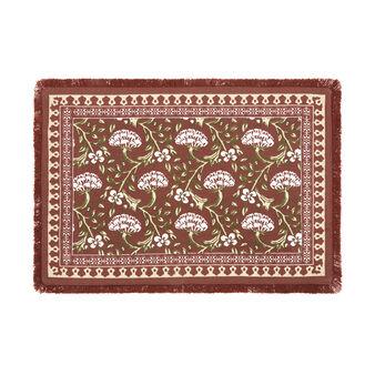 Tovaglietta puro cotone stampa ornamentale