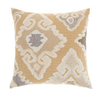 Cuscino misto lino jacquard kilim