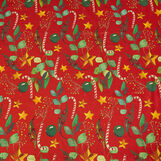 100% cotton tablecloth with Christmas print