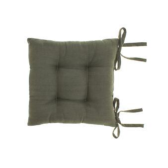 Cuscino sedia puro cotone spigato