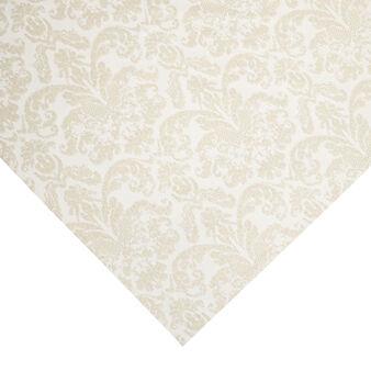Cotton blend jacquard table cover